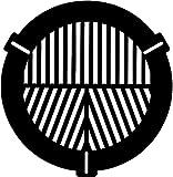 Gosky Bahtinov - Máscara de enfoque para telescopios, escudo de rocío o diámetro frontal de 115 a 165 mm, para celestron de 127 mm, celestron 5 Se, Skywatcher Maksutovs, meade127 Ed Apo, etc