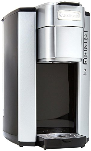 Cuisinart SS-5P1 Single Serve Brewer Coffemaker, 40 oz, Silver