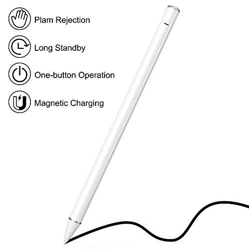 KECOW Lápiz táctil para iPad 2018/2019/2020 Lápiz para Pantalla Táctil de 1,0 mm Perfectamente preciso Lápiz iPad para Escribir, Dibujar, Tomar Notas, Jugar