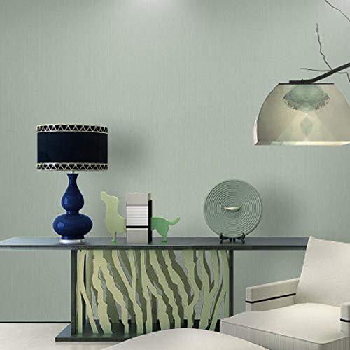 Pure pigmentkleur eenvoudig behang woonkamer slaapkamer blauw lichtgrijs behang 0.53m * 9.5m Q3