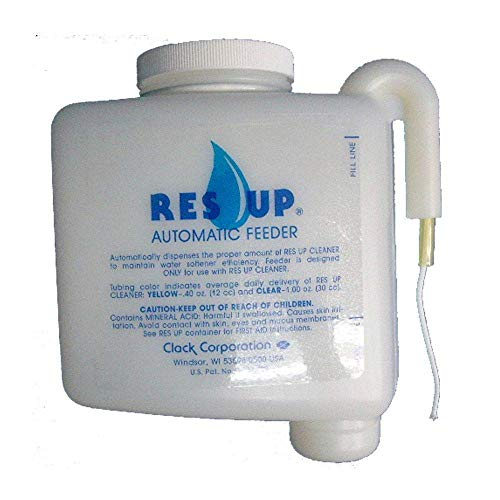 Res-Up Liquid Resin Cleaner Feeder - 0.4 oz Feeder w/Yellow Tube