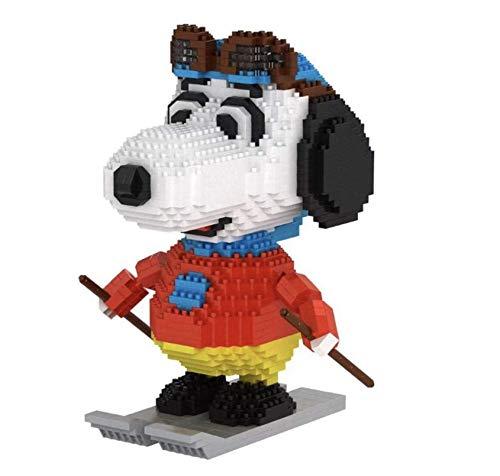 Cartoon Dog Mini Snoopy Model Block Baugruppe Ziegelstein Pädagogisches Spielzeug Für Kinder Geschenke