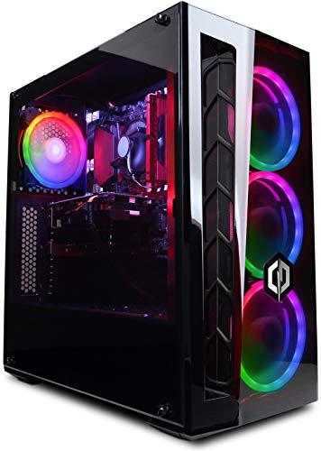 CyberpowerPC Wyvern Gaming PC - Intel Core i5-9400F, Nvidia GTX 1660Ti 6GB, 8GB RAM, 1TB HDD, 400W 80+ PSU, Wifi, Windows 10, MB520