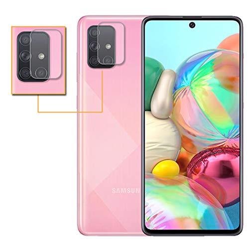 TenYll Camera Lens Protector voor Samsung Galaxy A71, transparante flexibele glazen beschermer voor Samsung Galaxy A71, Samsung Galaxy A71, Transparant