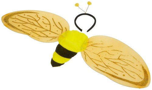 Wilbers Karneval 21301 - Flügel und Tiara, Biene