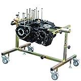 BigOne(ビッグワン) バイク用 BigOne エンジン メンテナンス スタンド 作業台 回転式 様々なエンジンの ヘッド シリンダー ピストン ミッション クラッチ メンテナンスに 単気筒から直列6気筒まで対応 二輪 エンジンスタンド 整備台