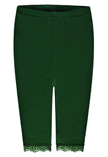 Kanz Kinder Mädchen 3/4 lange Leggins Gr.116-152 Jerseyhosen dunkelgrün Jungle Fever neu!, Größe:122