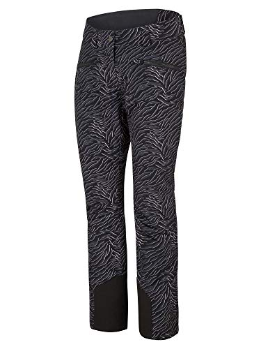 Ziener Damen TAIRE Ski Snowboard-Hose, Zebra Print, 40 (M)