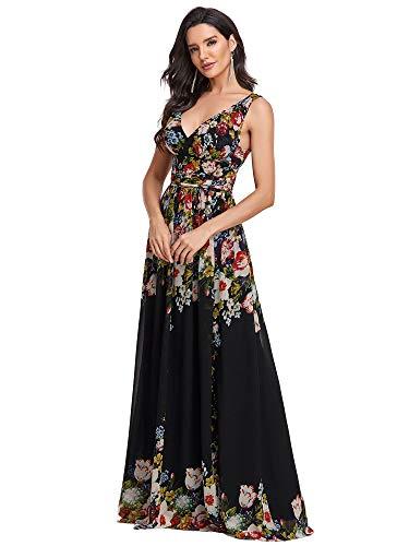 Ever-Pretty A-línea Largo Vestido...