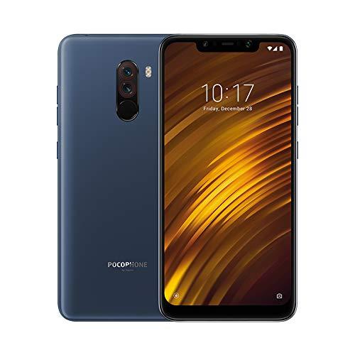 Xiaomi Pocophone F1 - Smartphone Dual SIM de 6.18' (4G, Qualcomm Snapdragon 845 2.8 GHz, RAM de 6 GB, memoria de 64 GB, cámara dual, Android) color azul [Versión Española]