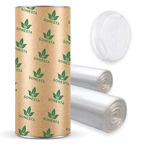 ECO Recarga compatible Tommee Tippee TEC, Twist & Click, Simplee| compatible Angelcare para pañales | equivalente 20 cajitas | + rollo de cartón para rellenar fácil | Anti olor + | 200m +60m FREE