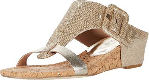 Donald J Pliner Women's Wedge Sandal, Platino, 8