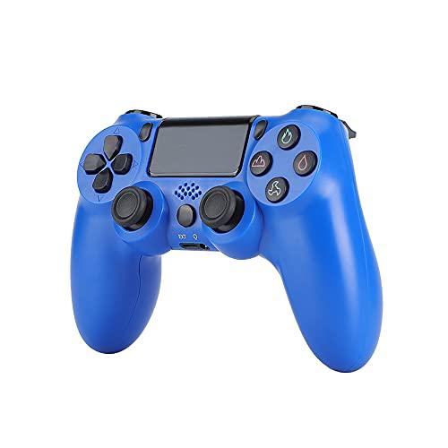 FSDFSD Manette pour PS4, Contrôleur de Jeu sans Fil Wireless Gamepad, Bluetooth Vibration Feedback Manette de Jeu avec USB Rechargeable, pour Playstation 4/PS4 Slim/PS4 Pro/PS3