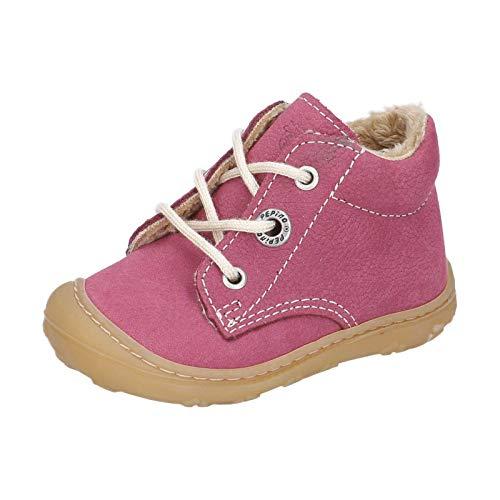 RICOSTA Kinder Lauflern Schuhe CORANY von Pepino, Weite: Weit (WMS),terracare, Spielen detailreich Freizeit leger,Fuchsia,23 EU / 6 Child UK