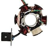 LSS-MDS 6 polos del estator del generador bobina electromagnética Placa GY6 125cc ATV 110 PIT piezas de repuesto Accesorios DITR Quad motocicleta de la bicicleta