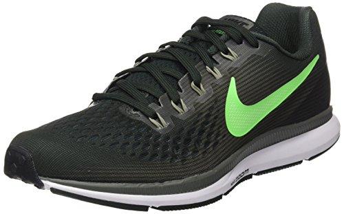 Nike Air Zoom Pegasus 34, Zapatillas de Entrenamiento para Hombre, Verde (Vert Nature/Turquoise Atomique Sombre/Vert Illusion/Vert de Rage), 42 EU