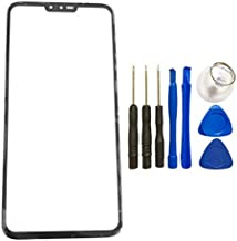 1PCS Screen Glass Panel Lens for LG V40 ThinQ - Front Glass Touch Screen LCD Outer Panel Lens Repair Part+Tools Kit for LG V40 (Not LCD &Not Digitizer)
