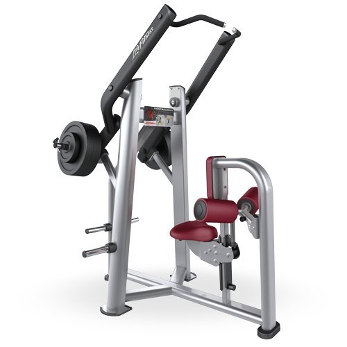 Life Fitness Signature Series Plate Loaded Front Pulldown