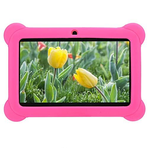 Tablet PC para niños, 7 pulgadas de alta definición 1GB + 8GB Quad Core Android Kids Edition Tablet PC con funda de silicona, compatible con WIFI Control de padres Niños Tableta para niños(es)