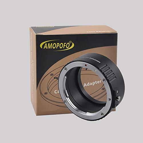 AMOPOFO Adapter voor Canon EOS Lens naar Nikon Z Full Frame Mirrorless Z6 Z7 camera
