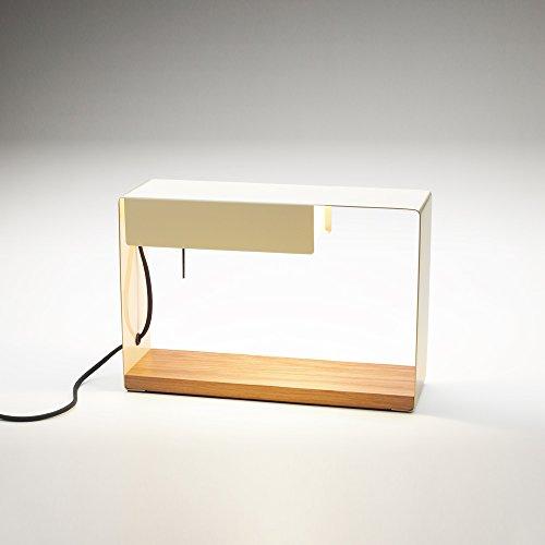 Soporte fijación a Pared para lámpara Modelo La Discrete, Color Blanco, 21 x 21 x 4 centímetros (Referencia: A649-003)