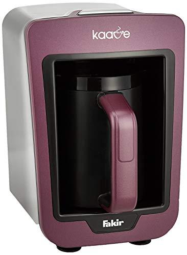 Fakir Kaave 9173003 / Mokkamaschine Kaffeekocher Kaffeebereiter elektrisch , Kunststoff, easy One Touch Steuerung – violett 735 Watt