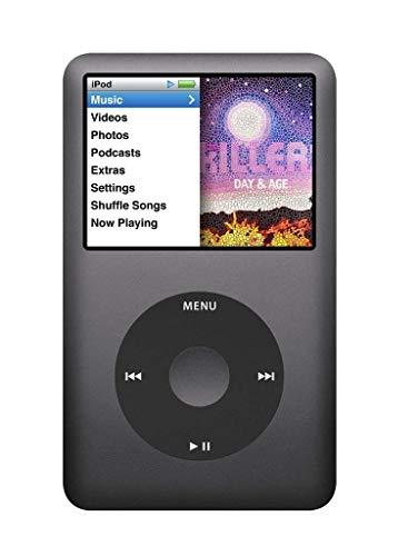 MP3 Player Apple iPod Classic 256 GB SSD Flash Speicher 7.Generation ( 256GB SSD, Schwarz )