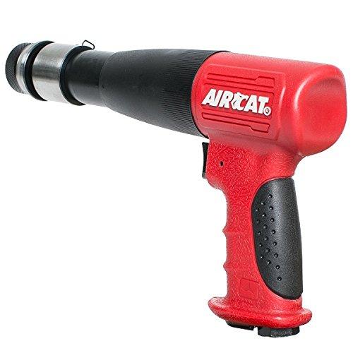 AIRCAT 5200-A-T Long Stroke Air Hammer,Red & Black