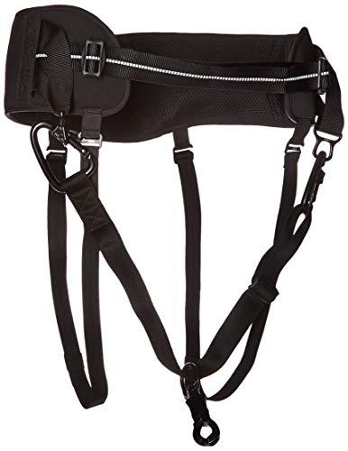 Hurtta Hiker Belt for Jogging or Dog Sports, Black, One Size