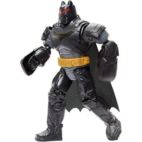 Batman con Armatura e Maschera Rimovibile, Personaggio Articolato, Alto 30 cm con 11 Punti di Articolazione, Giocattolo per Bambini di 4+ Anni, GCK65