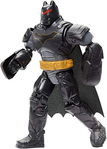 Batman con Armatura e Maschera Rimovibile