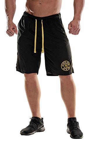 Golds Gym Premium Mesh Short | Schwarz | Gr. L