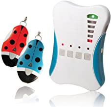 Ardi 2.4GHz Digital RF Guardian Angel, 807G2, 1 Base Unit & 2 Tag Units. Kid Tracker/Smart Direction & Distance Indicator/500M Effective Distance/Proximity Alarm Function/Mute Mode. Made in Taiwan