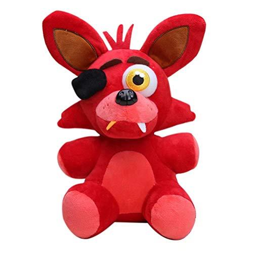 Daiwen Five Nights At Freddys Peluches Foxy Bonnie Golden Freddy Peluches de Dibujos Animados para Muñecas Niños Regalo