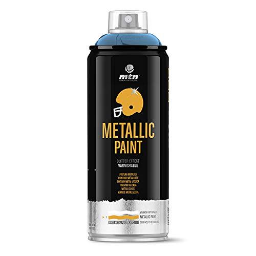 Montana Colors MTN PRO Metalizado Azul R-5025, Spray, Azul, 400 ml