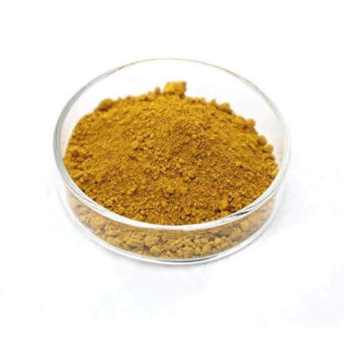 Iron Oxide Pigment - Yellow Powder Color Pigment for Concrete, Cement, Mortar, Grout, Plaster, Colorant, Pigment (0.22lb, Yellow)