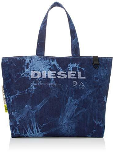 Diesel Herren Thisbagisnotatoy D-thisbag Shop M Shopping Bag Umhängetasche, blau, Uni