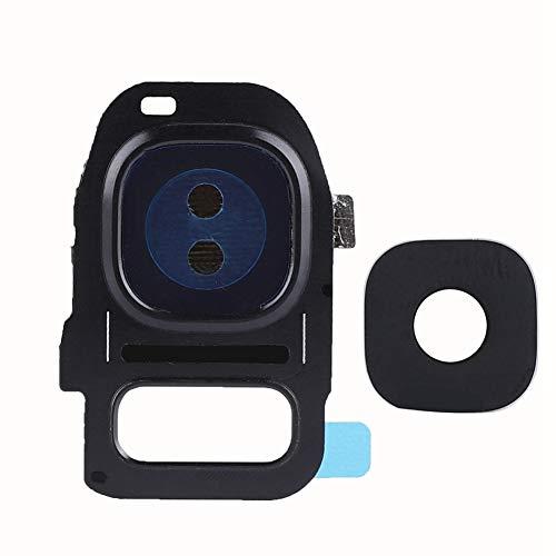 Redxiao 【 】 Cubierta del Marco del teléfono + Lente de Cristal de la cámara, cámara Trasera Trasera con Color preciso e Imagen para los Modelos Samsg Galxy S7/S7 Edge(#1)