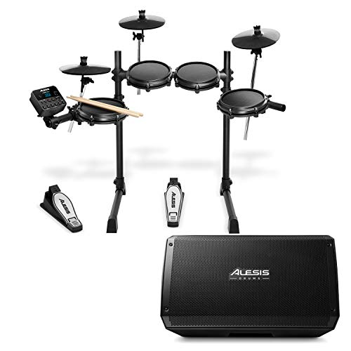 Alesis Turbo Mesh Kit + Strike Amp 12 - Kit de...