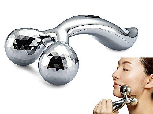 Massaggiatore 3D di alta qualità, per il viso e per il corpo contro la pelle a buccia d'arancia, apparecchio con sfere massaggianti e rassodanti per il viso e anti cellulite per il corpo