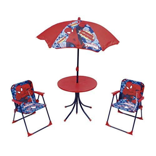 ARDITEX SM9463 Set Camping con 4 Piezas, diseño Spiderman