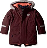 Helly Hansen Kids & Baby Isfjord Hooded Waterproof Down Parka Coat, 662 Wild Rose, Size 4