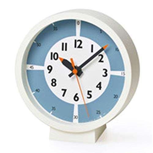 置時計 レムノス Lemnos ふんぷんくろっくウィズカラー フォーテーブル fun pun clock with color for tabl...