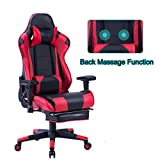 Best Gaming Computer Chairs - HEALGEN Back Massage Gaming Chair with Footrest,PC Computer Review