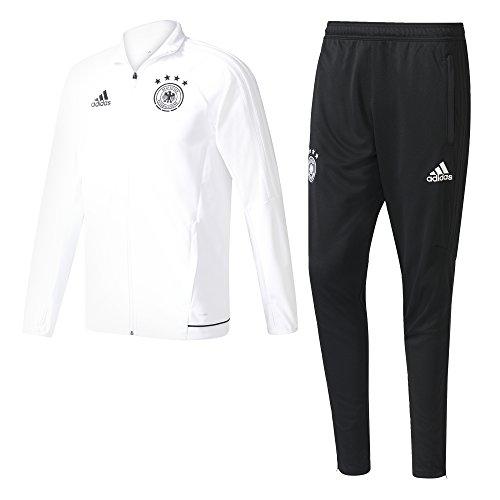 adidas Herren DFB Training Suit Trainingsanzug, White/Black, 3XL