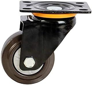 Swivel Casters met rem enkele wiel belasting 250 pond vervanging voor werkbank industriële machine trolley karren grootte ...