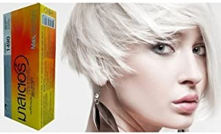 Hair Color Permanent Hair Cream Dye Light Grey Pearl White Reflect