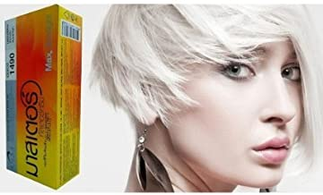 Hair Color Permanent Hair Cream Dye Light Grey Pearl White Reflect