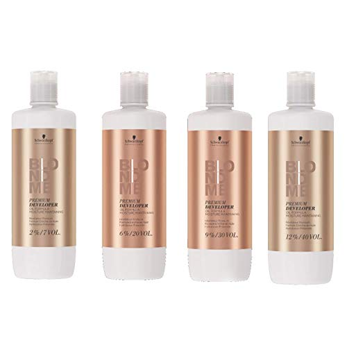 Schwarzkopf Professional BlondMe Premium Pflegeentwickler 6%, 1er Pack (1 x 1 l)