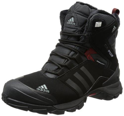 adidas Performance WINTER HIKER SPEED CP PL V22179 Herren Trekking- & Wanderschuhe, Schwarz (BLACK 1 / BLACK 1 / CORE ENERGY S12), 42 2/3